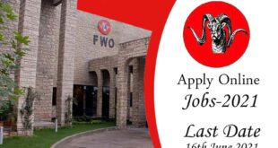 FWO jobs June 2021
