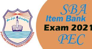 SBA item bank exam 2021