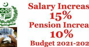 salary increase budget 2021