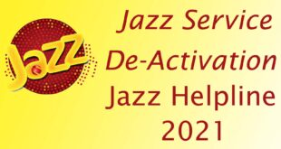 Jazz deactivation codes