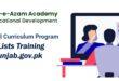 batch list PST SNC training